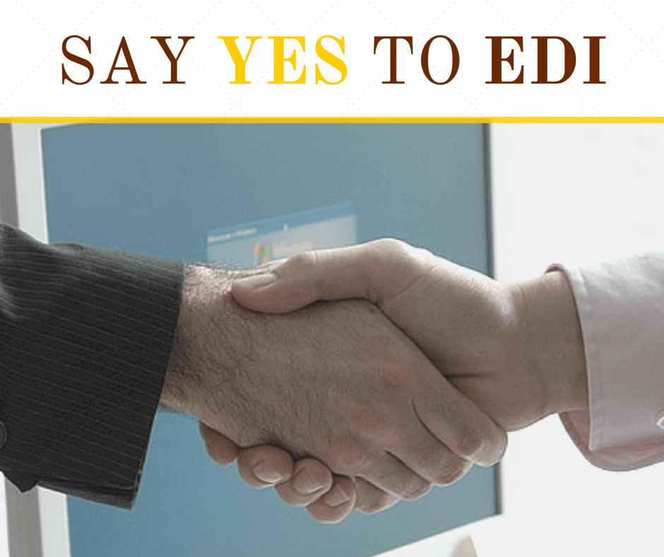 say YES to EDI
