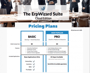 ErpWizard-Pricing-package-snapshot