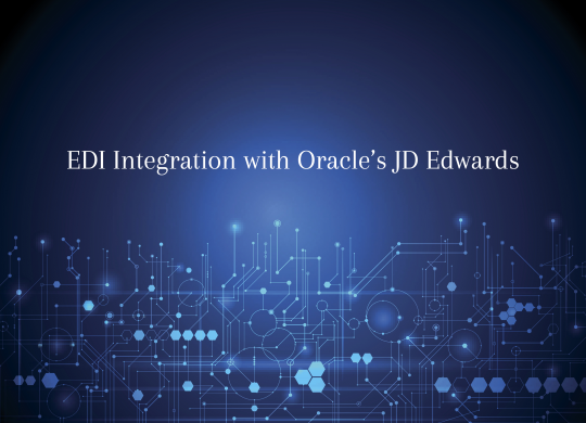 EDI JDE Oracle Integration