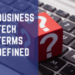 Definition of business and tech term